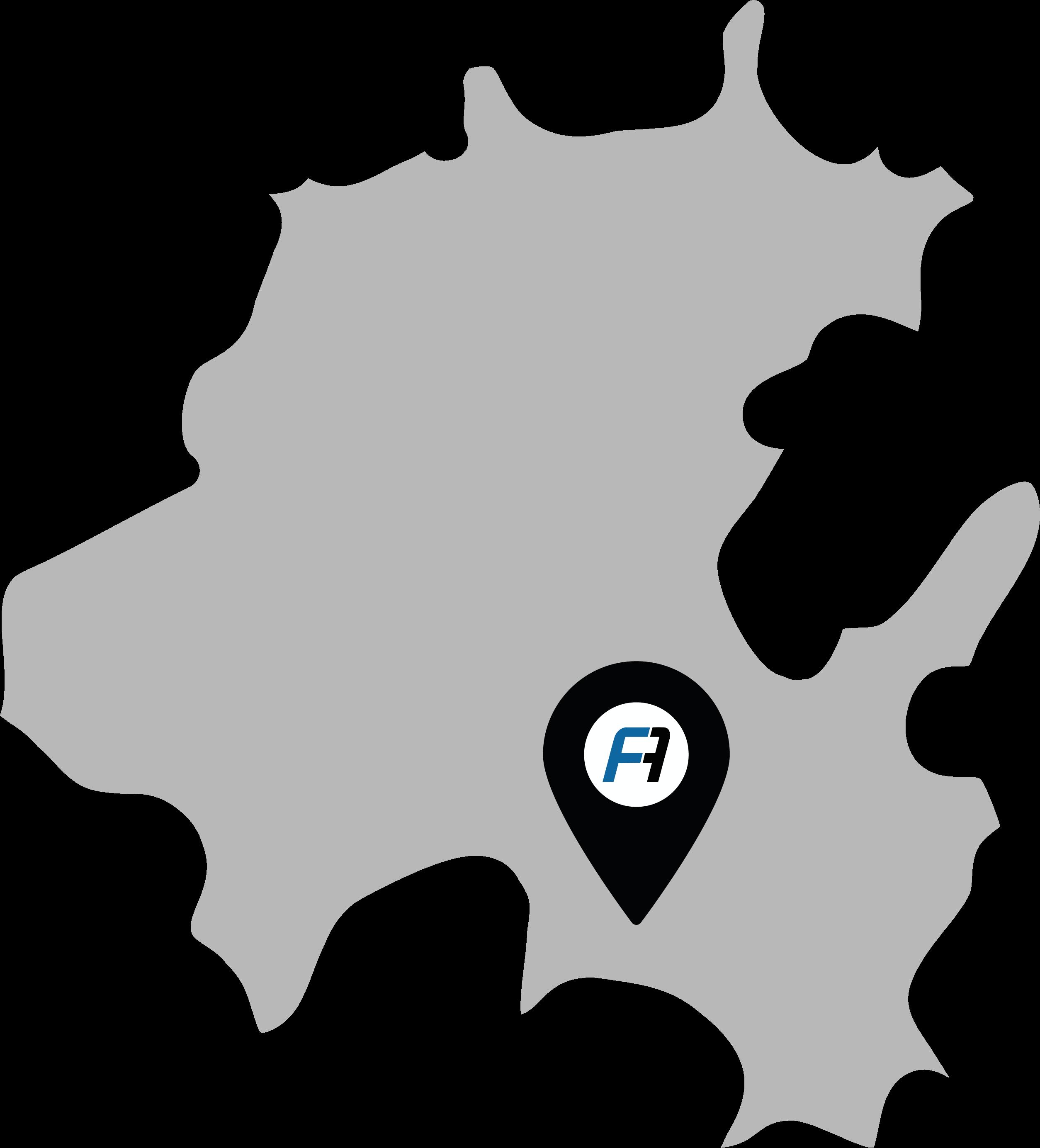 Mapa APISA FASTENERS